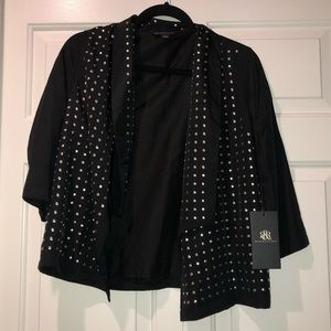 Black Rock & Republic Silver-Studded Jacket